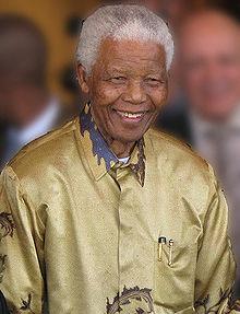 Nelson Mandela image: Wikipedia