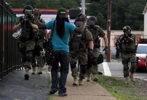 Militarised police